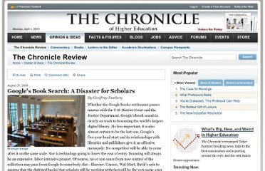 http://chronicle.com/article/Googles-Book-Search-A/48245/