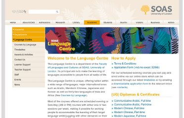 http://www.soas.ac.uk/languagecentre/