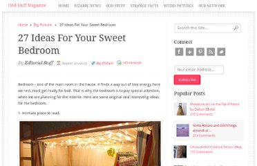 http://oddstuffmagazine.com/27-ideas-for-your-sweet-bedroom.html