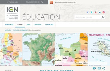 http://education.ign.fr/primaire/fonds-de-cartes