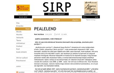 http://www.sirp.ee/index.php?option=com_content&view=article&id=10257:pealelend&catid=6:kunst&Itemid=10&issue=3288