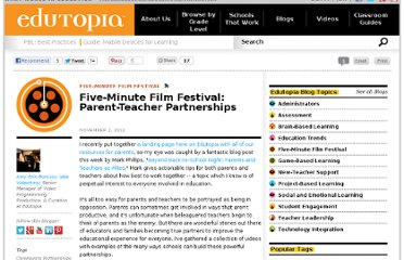 http://www.edutopia.org/blog/film-festival-parent-teacher-partnerships