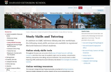 http://www.extension.harvard.edu/resources/career-academic-resource-center/study-skills-tutoring