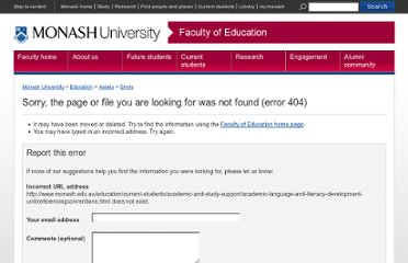 http://www.education.monash.edu.au/students/current/study-resources/referencingconventions.html