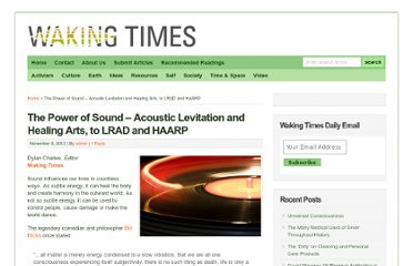 http://www.wakingtimes.com/2012/11/06/the-power-of-sound-acoustic-levitation-healing-lrad-haarp/