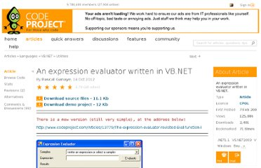 http://www.codeproject.com/Articles/9519/An-expression-evaluator-written-in-VB-NET