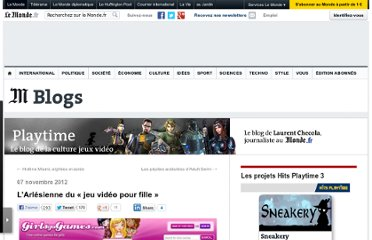 http://playtime.blog.lemonde.fr/2012/11/07/larlesienne-du-jeu-video-pour-fille/