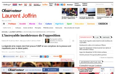 http://tempsreel.nouvelobs.com/laurent-joffrin/20121107.OBS8457/l-incroyable-incoherence-de-l-opposition.html