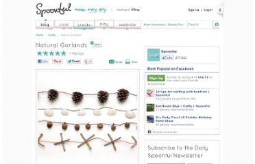 http://spoonful.com/crafts/natural-garlands