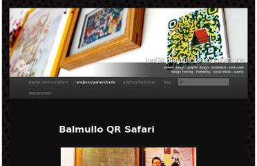 http://hellojon.wordpress.com/projects/qr-codes/balmullo-qr-safari/