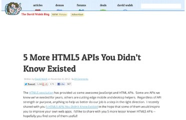 http://davidwalsh.name/more-html5-apis