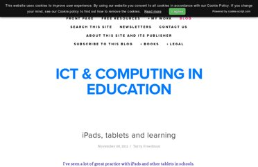 http://www.ictineducation.org/home-page/2012/11/8/ipads-tablets-and-learning.html