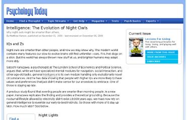 http://www.psychologytoday.com/articles/200911/intelligence-the-evolution-night-owls