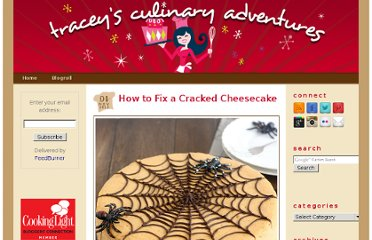 http://traceysculinaryadventures.blogspot.com/2012/11/how-to-fix-cracked-cheesecake.html