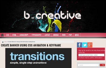 http://bcreativeweb.blogspot.com/2012/09/create-banner-using-css-animation.html