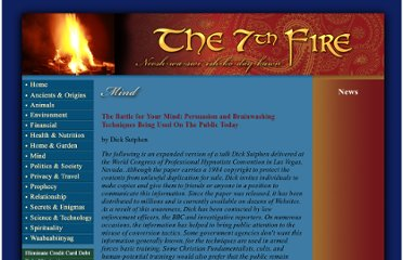 http://www.the7thfire.com/new_world_order/mind_control/battle_for_your_mind.htm