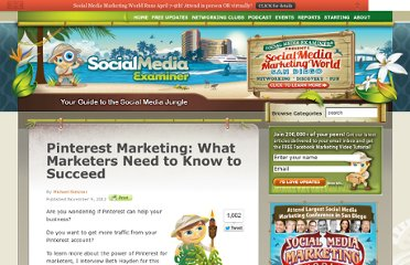 http://www.socialmediaexaminer.com/pinterest-marketing-what-marketers-need-to-know-to-succeed/