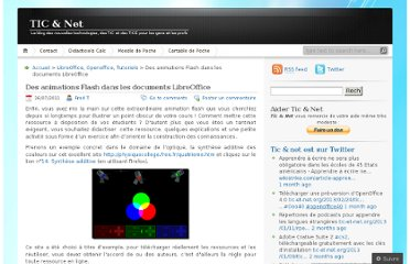 http://tic-et-net.org/2011/07/26/des-animations-flash-dans-les-documents-libreoffice/