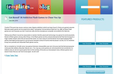 http://www.templates.com/blog/30-addictive-flash-games/