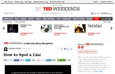 http://www.huffingtonpost.com/pamela-meyer/how-to-spot-a-liar_b_2094610.html