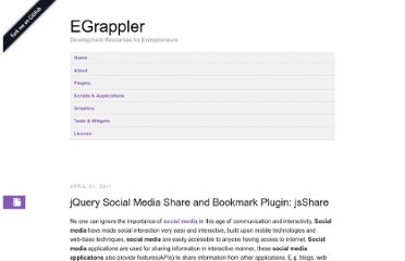 http://www.egrappler.com/jquery-social-media-share-plugin-jsshare/
