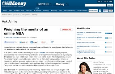 http://management.fortune.cnn.com/2012/11/09/weighing-the-merits-of-an-online-mba/