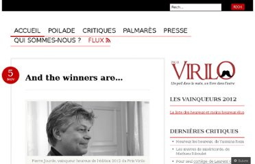 http://prixvirilo.com/2012/11/05/and-the-winners-are/