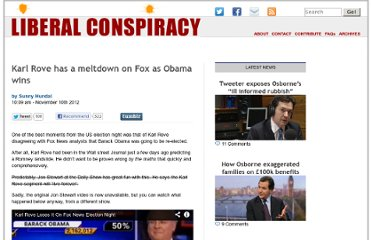 http://liberalconspiracy.org/2012/11/10/jon-stewart-lauds-fox-news-coverage-of-obama-win/