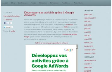 http://emilieogez.com/blog/2011/06/23/developper-ses-activites-grace-a-google-adwords/