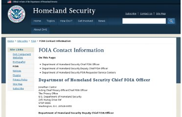 http://www.dhs.gov/foia-contact-information