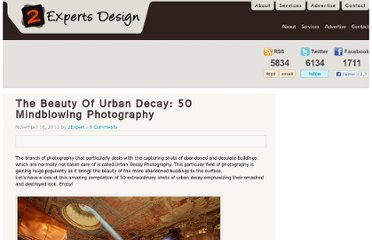 http://www.2expertsdesign.com/inspiration/the-beauty-of-urban-decay-50-mindblowing-photography