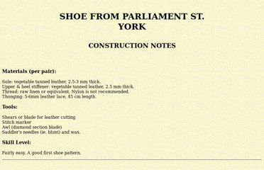 http://members.ozemail.com.au/~chrisandpeter/shoe/construction.html