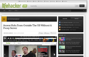 http://www.lifehacker.com.au/2010/07/access-hulu-from-outside-the-us-without-a-proxy-server/