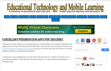 http://www.educatorstechnology.com/2012/11/5-excellent-presentation-apps-for.html