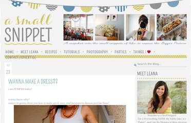http://asmallsnippet.com/2011/09/wanna-make-dress.html