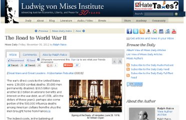 http://mises.org/daily/6260/The-Road-to-World-War-II