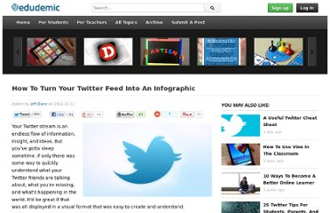 http://edudemic.com/2012/11/how-to-turn-your-twitter-feed-into-an-infographic/