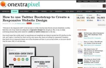 http://www.onextrapixel.com/2012/11/12/how-to-use-twitter-bootstrap-to-create-a-responsive-website-design/