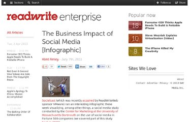 http://readwrite.com/2011/07/07/the-business-impact-of-social-media