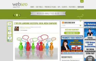 http://www.webseoanalytics.com/blog/7-tips-for-successful-social-media-campaigns/