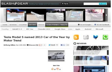 http://www.slashgear.com/tesla-model-s-named-2013-car-of-the-year-by-motor-trend-12256675/
