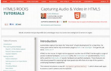 http://www.html5rocks.com/en/tutorials/getusermedia/intro/?redirect_from_locale=fr