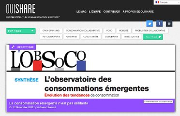 http://ouishare.net/fr/2012/11/etude-obsoco-consommation-collaborative-emergente/