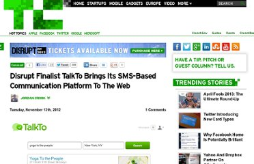 http://techcrunch.com/2012/11/13/disrupt-finalist-talkto-brings-its-sms-based-communication-platform-to-the-web/