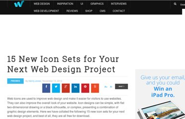 http://webdesignledger.com/freebies/15-new-icon-sets-for-your-next-web-design-project