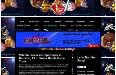 http://www.game-cave.com/buy-a-mobile-arcade/veteran-small-business-opportunites-in-houston-tx/