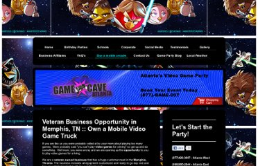 http://www.game-cave.com/buy-a-mobile-arcade/veteran-small-business-opportunites-in-memphis-tn/