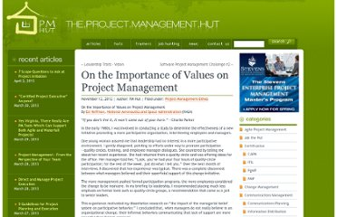 http://www.pmhut.com/on-the-importance-of-values-on-project-management