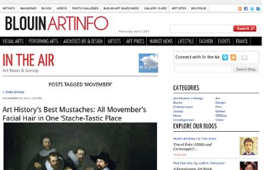 http://blogs.artinfo.com/artintheair/tag/movember/