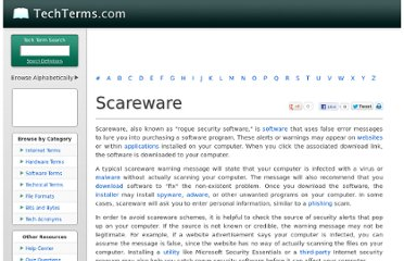 http://www.techterms.com/definition/scareware